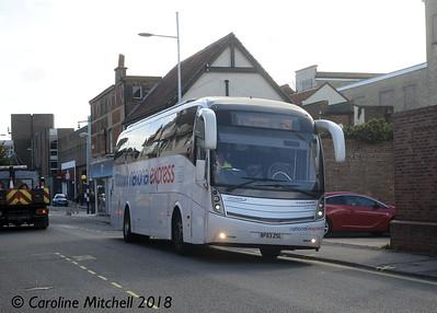 Ambassador 211 (BF63ZSL), Gordon Road , Lowestoft, 28th September 2018