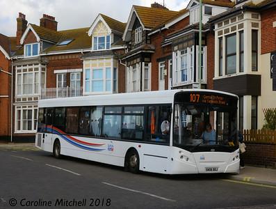 Suffolk Norse SN06BOJ, Gordon Road, Lowestoft, 28th September 2018