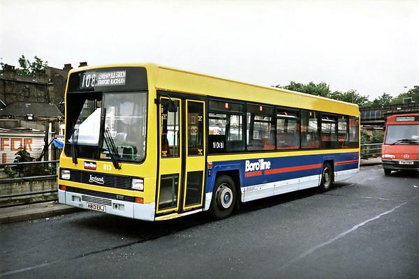 813 H813EKJ, Lewisham 21/5/1991