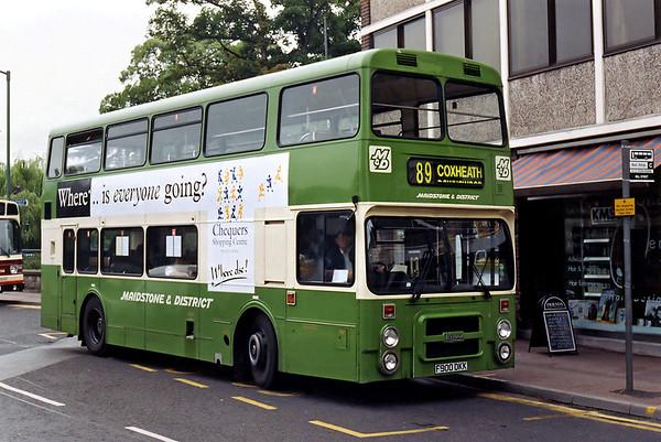 5900 F900DKK, Maidstone 14/8/1996