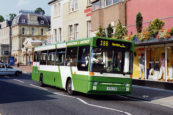3606 L606EKM, Tunbridge Wells 19/7/1994