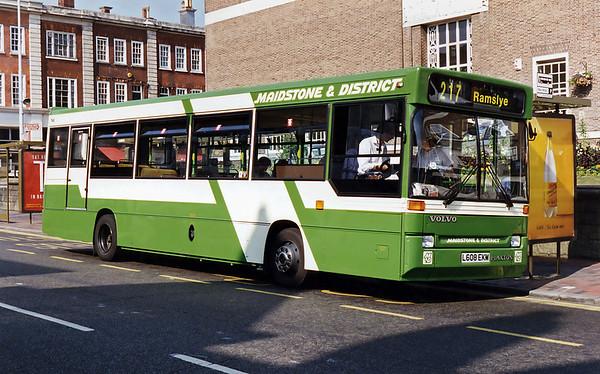 3608 L608EKM, Tunbridge Wells 19/7/1994
