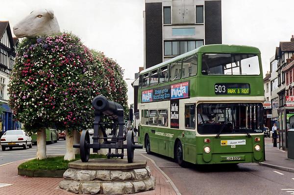 5724 LJA650P, Maidstone 14/8/1996