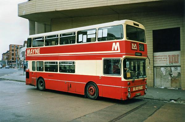 19 BNE740N Manchester 12/9/1991