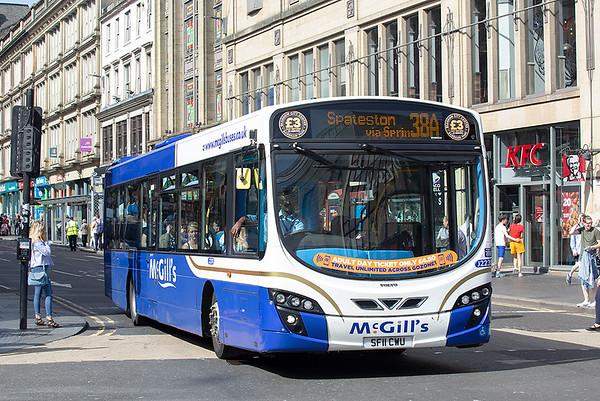 2238 SF11CWU, Glasgow 28/6/2019