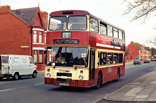0203 E203WBG, Birkenhead 10/3/1995