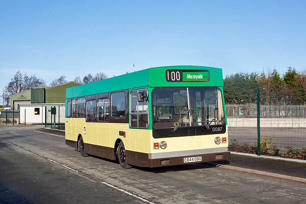 0087 C844OBG, Burscough 18/1/2020