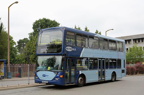 491 YN53RZD, Crawley 21/7/2014
