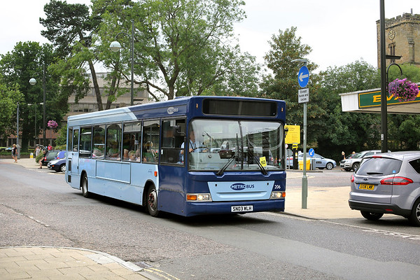 206 SN03WLH, Crawley 21/7/2014