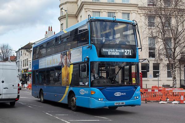 6976 YP09HWH, Brighton 6/3/2020