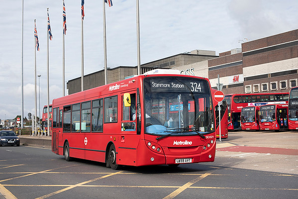 DE1029 LK59AVT, Brent Cross 24/8/2020