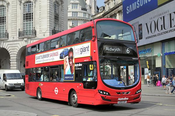 VWH2107 LK15CXF, Piccadilly Circus 18/8/2016