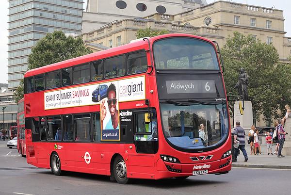 VWH2104 LK15CXC, Trafalgar Square 18/8/2016