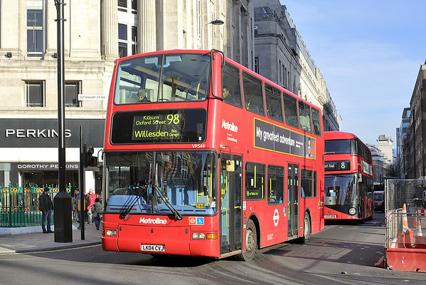 VP548 LK04CVJ, Tottenham Court Road 19/1/2017