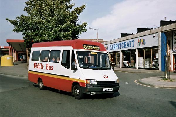 180 F39HOD, Crewe 21/9/1991