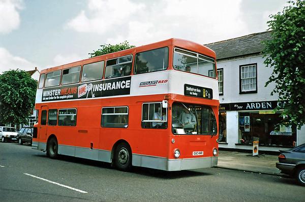 952 OUC44R, Henley-in-Arden 6/7/1991