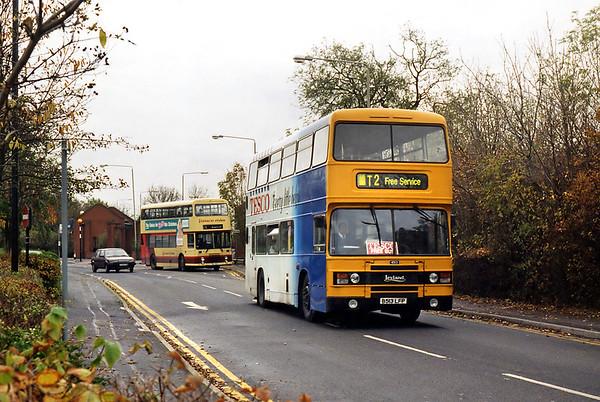 4513 B513LFP, Beaumont Leys 22/11/1995