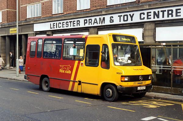 M321 L321AUT, Leicester 22/11/1995