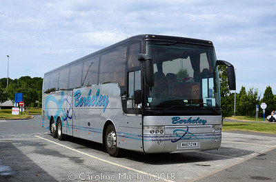 Berkeley WA57CYW, Wetherby Services, 23rd June 2018