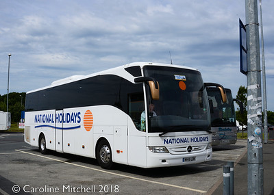 National Holidays NH15LDH,  Wetherby Services, 23rd June 2018