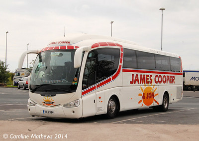 Janes Cooper VIL2384, Wetherby Services, 13th June 2014