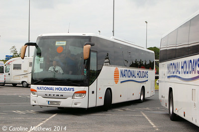National Holidays NH11FTH, Wetherby Services, 13th June 2014