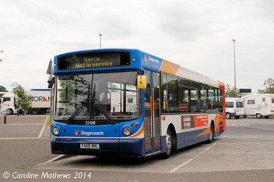 Stagecoach 22468 (T468BNL), Wetherby Services, 13th June 2014