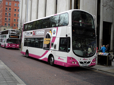 Metro Volvo B9TL/WRIGHT ECLIPSE GEMINI in Donegal square Belfast