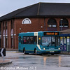 Arriva North East 1104 (W468XKX), Middlesbrough, 31st January 2015