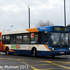 Stagecoach 22017 (NK03XJG), Newport ROad,  Middlesbrough, 31st January 2015