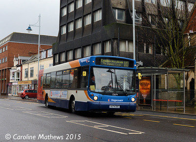 Stagecoach 22674 (V674DDC), Grange Road, Middlesbrough, 31st January 2015
