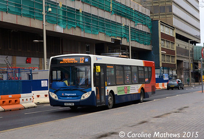 Stagecoach 24112 (NK09FMD), Albert Road, Middlesbrough, 31st January 2015
