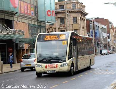 Abbott's of Leeming YJ13HHS, Albert Road,Middlesbrough, 31st January 2015