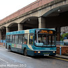Arriva North East 1909 (W312PPT), Wilson Street, Middlesbrough, 31st January 2015