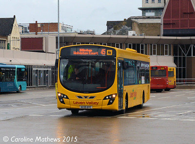 Leven Valley NX59BYC, Middlesbrough Bus Station, 31st January 2015