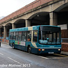Arriva North East 1920 (W81PRG), Wilson Street, Middlesbrough, 31st January 2015