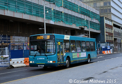Arriva North East 4508 (V508DFT), Albert Road, Middlesbrough, 31st January 2015