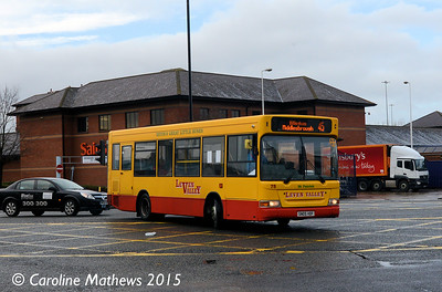 Leven Valley 75 (SN05HDF), Newport Road, Middlesbrough, 31st January 2015