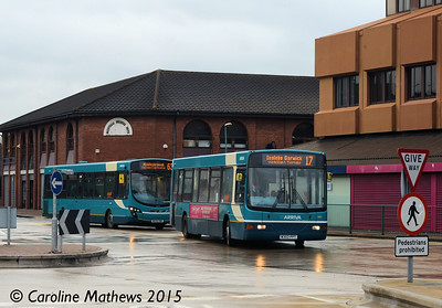 Arriva North East 1902 (W302PPT), Middlesbrough, 31st January 2015