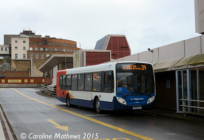 Stagecoach 24101 (NK09FLL), Middlesbrough Bus Station, 31st January 2015