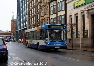 Stagecoach 22475 (T475BNL), Albert Road, Middlesbrough, 31st January 2015