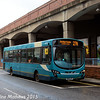 Arriva North East 1450 (NK10CFP), Wilson Street, Middlesbrough, 31st January 2015