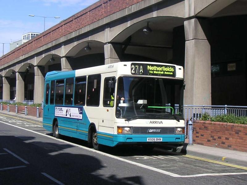 Arriva North East 1506 (K506BHN), Middlesbrough, 24th July 2006