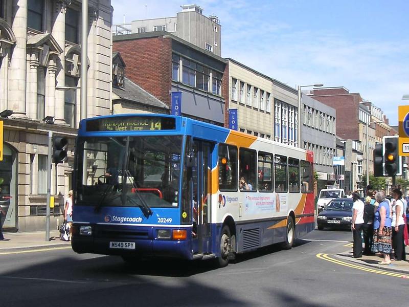 Stagecoach 20249 (M549SPY), Middlesbrough, 24th July 2006