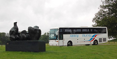 Abbey Tavel K16CCP, Yorkshire Sculpture Park, 22nd June 2012