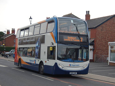 Stagecoach 19036 (SN56AWF), Hesketh Bank, 11th August 2012