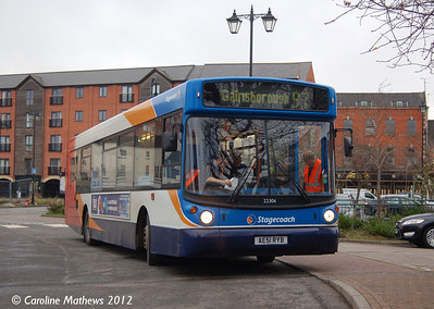 Stagecoach 22306 (AE51RYB), Gainsborough, 22nd November 2012
