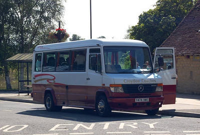 Croydon Coaches Y474HWE, Midhurst, 28th July 2012