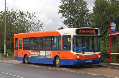 Centrebus 568 (Y257FJN), Leeds, 23rd June 2012