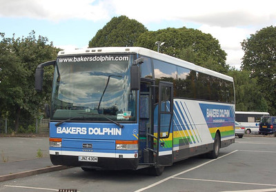 Bakers Dolphin 4 (JNZ4304), Leominster, 27th July 2012